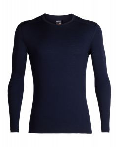 Icebreaker Merino 200 Oasis Long Sleeve Crewe Thermal Top Mens