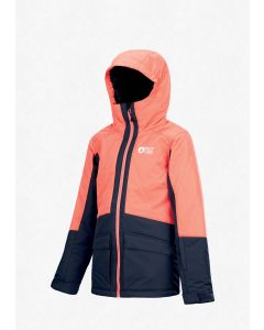 Picture Leeloo Jacket Juniors-Coral-8yrs