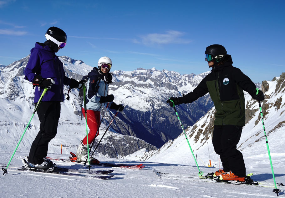 An Eco Skischool on a mission to make skiing greener